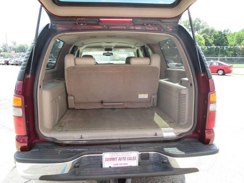 2003 Chevrolet Suburban 1500 LT 4dr SUV - Pontiac MI