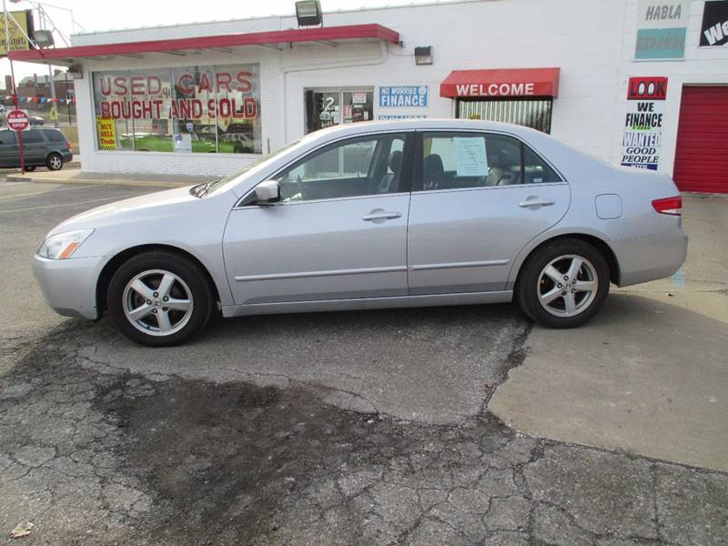 2003 Honda Accord EX 4dr Sedan w/Leather - Pontiac MI