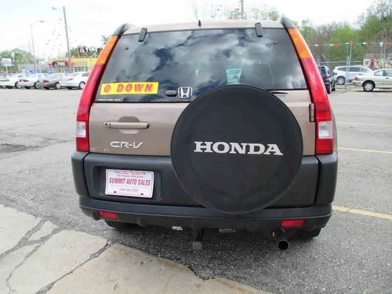 2003 Honda CR-V AWD EX 4dr SUV - Pontiac MI