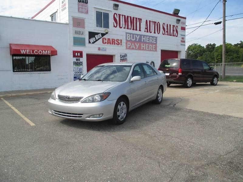 2002 Toyota Camry car for sale in Detroit