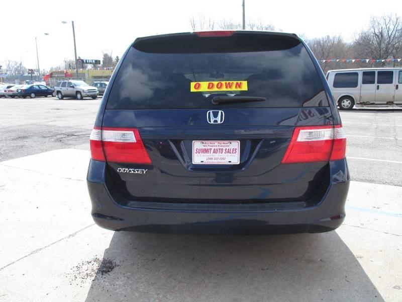 2006 Honda Odyssey EX-L 4dr Mini-Van w/DVD - Pontiac MI