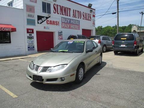 2003 Pontiac Sunfire for sale in Pontiac, MI