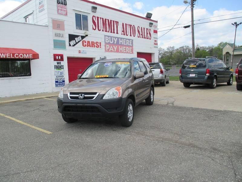 2003 Honda Cr-v car for sale in Detroit