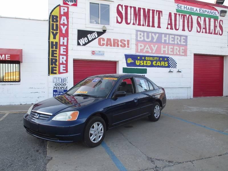 2003 Honda Civic car for sale in Detroit