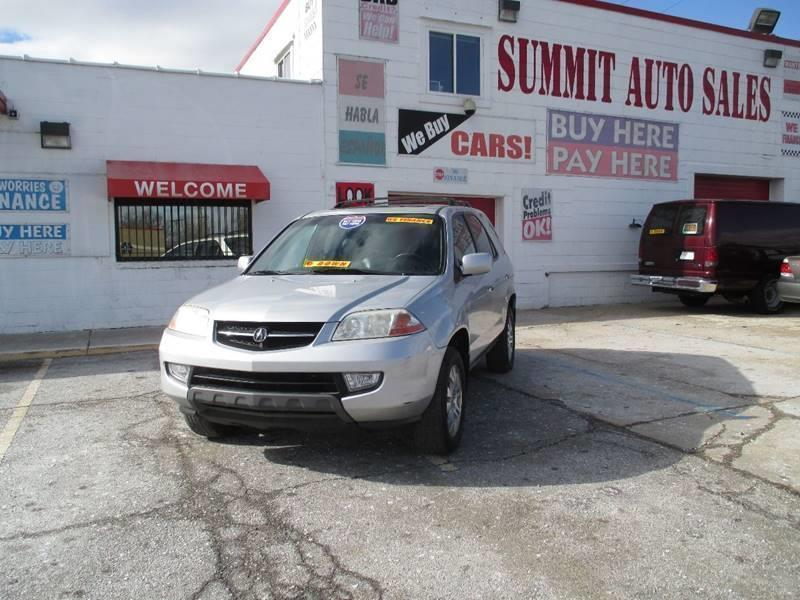 2003 Acura Mdx car for sale in Detroit