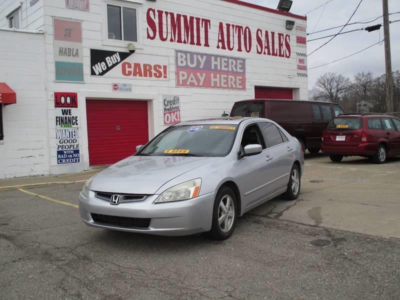 2004 Honda Accord car for sale in Detroit
