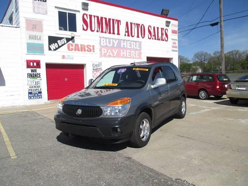 2003 Buick Rendezvous for sale at Summit Auto Sales Inc in Pontiac MI
