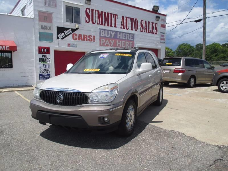 2006 Buick Rendezvous for sale at Summit Auto Sales Inc in Pontiac MI