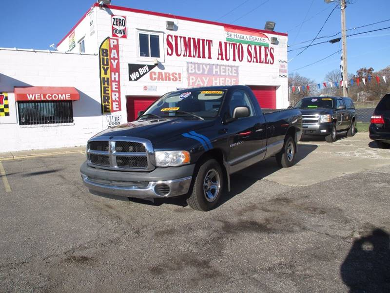 2004 Dodge Ram Pickup 1500 car for sale in Detroit