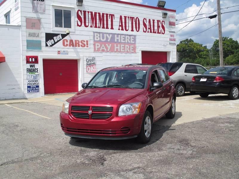 2007 Dodge Caliber for sale at Summit Auto Sales Inc in Pontiac MI