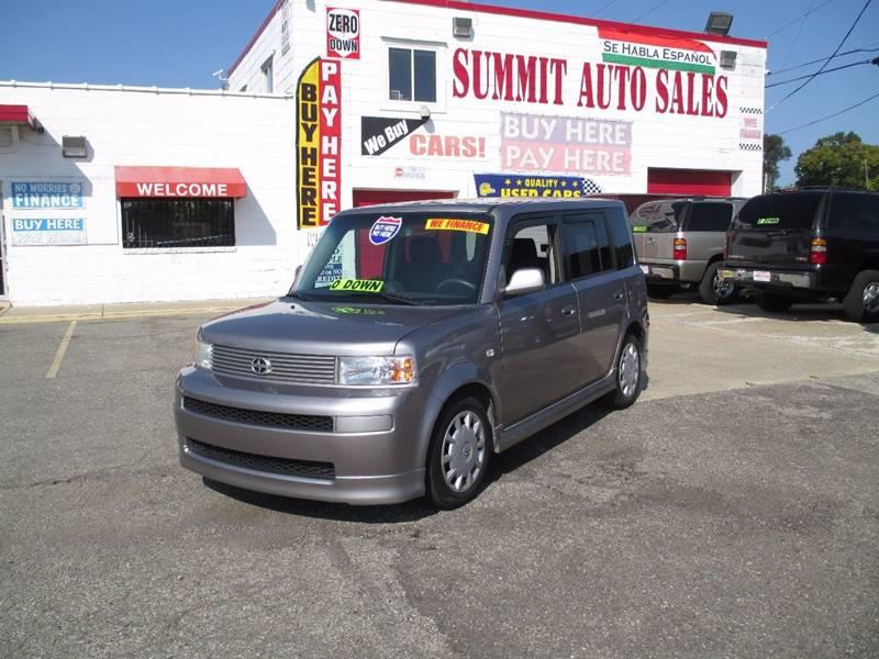 2006 Scion xB for sale at Summit Auto Sales Inc in Pontiac MI