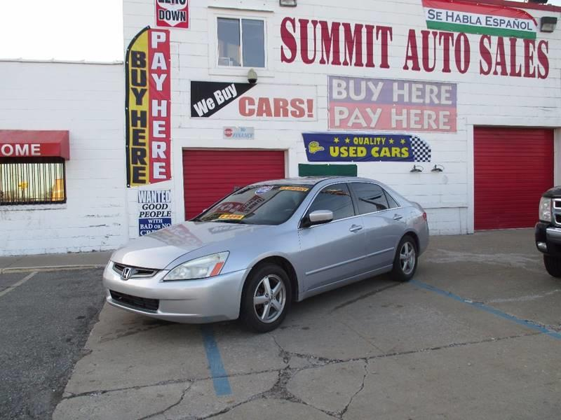 2004 Honda Accord car for sale in Detroit