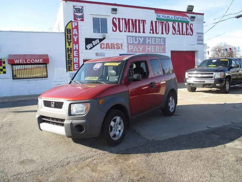 2004 Honda Element car for sale in Detroit