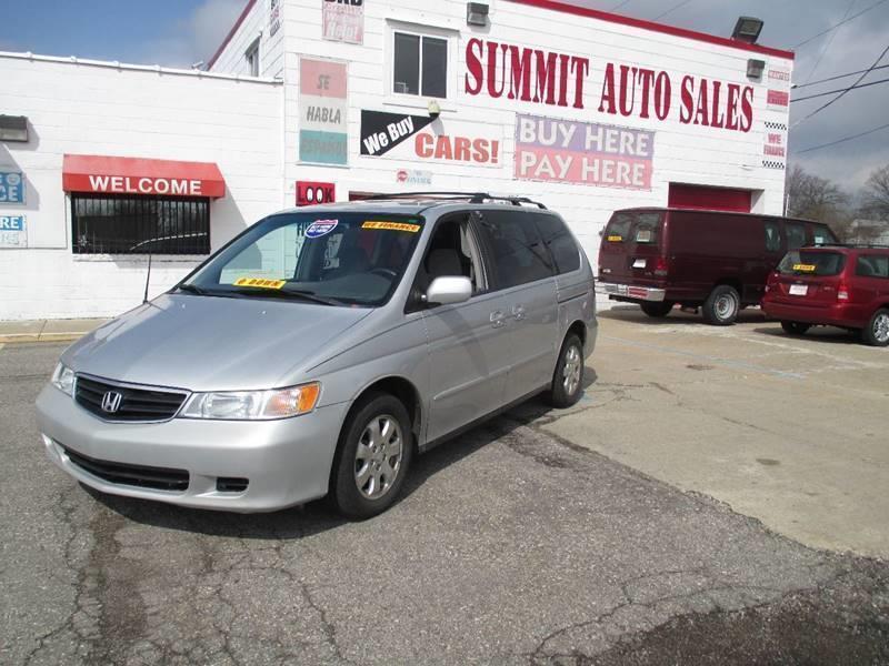 2002 Honda Odyssey car for sale in Detroit