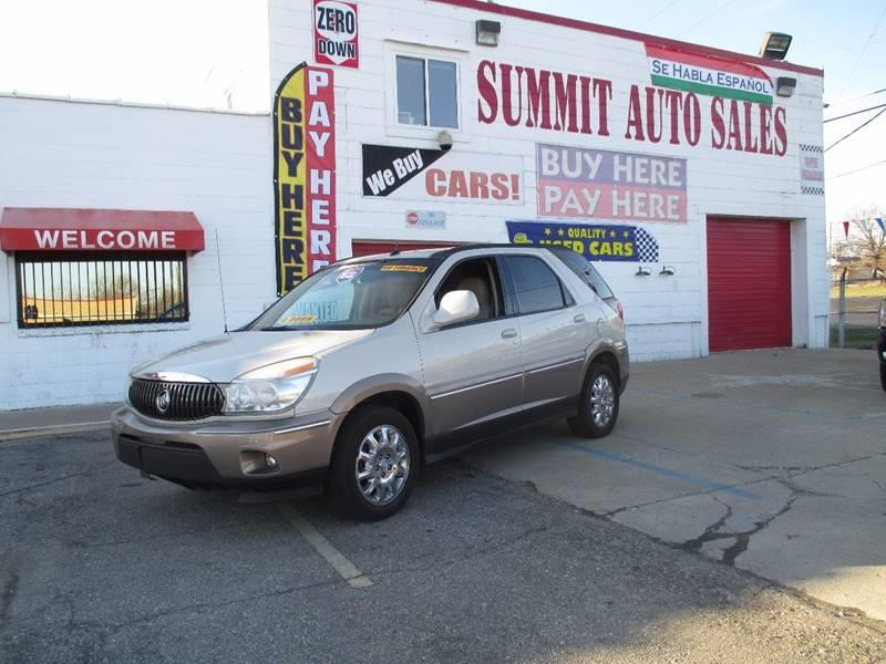 2006 Buick Rendezvous car for sale in Detroit