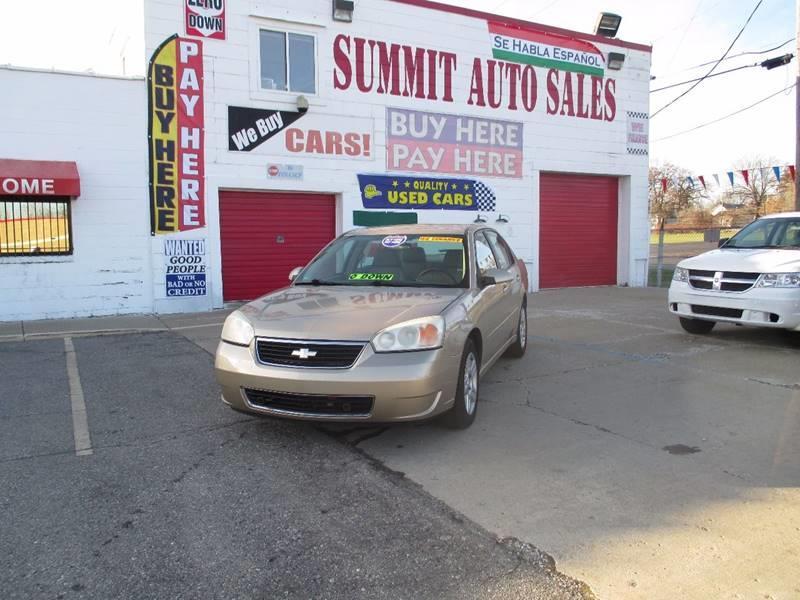2006 Chevrolet Malibu car for sale in Detroit