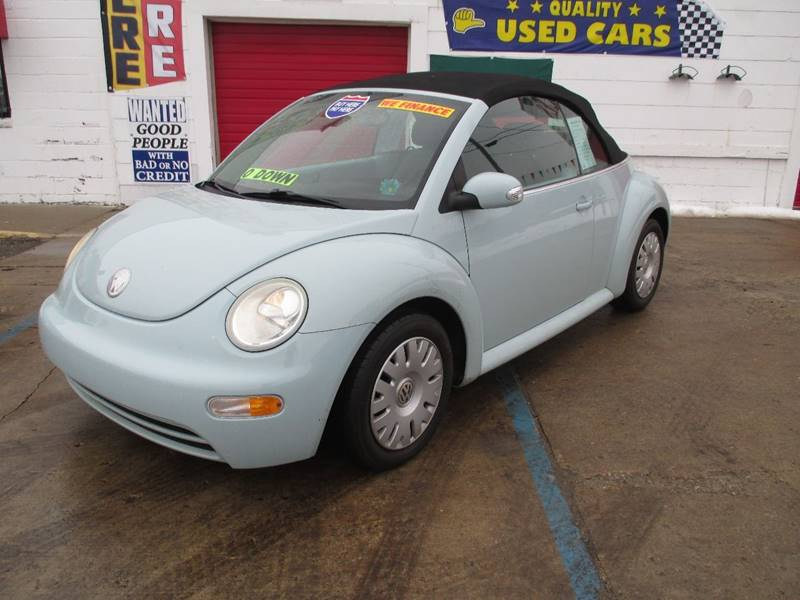 2005 Volkswagen New Beetle car for sale in Detroit