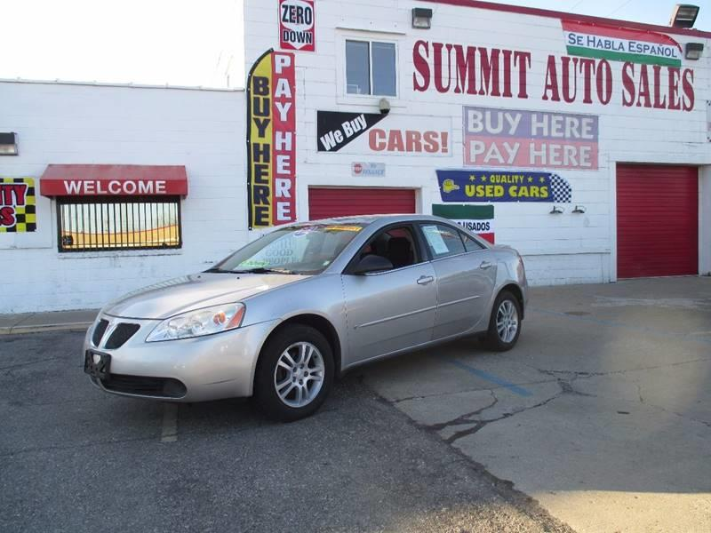 2006 Pontiac G6 car for sale in Detroit