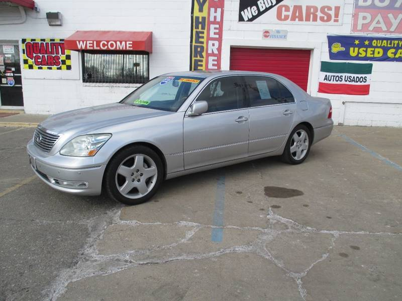 2005 Lexus Ls 430 car for sale in Detroit