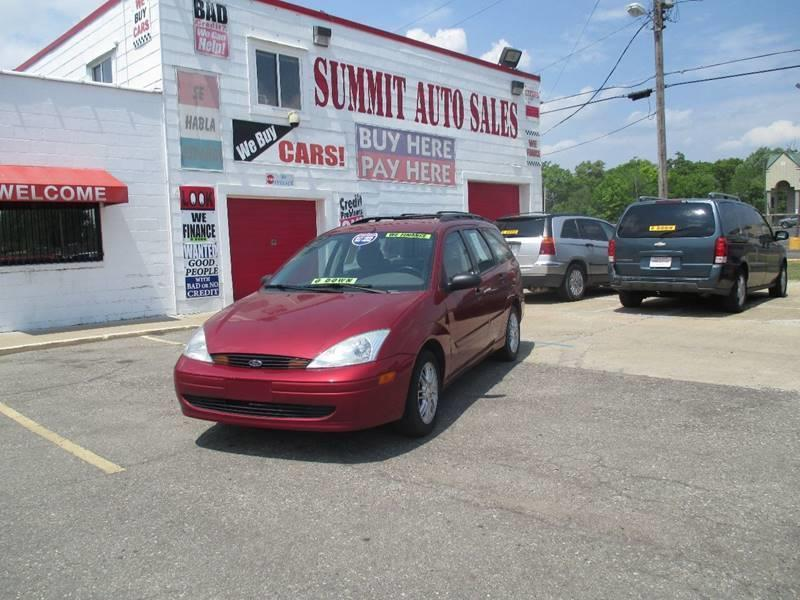 2002 Ford Focus car for sale in Detroit
