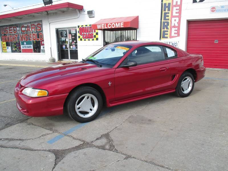 1996 Ford Mustang car for sale in Detroit