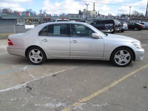 2005 Lexus LS 430 for sale at Summit Auto Sales Inc in Pontiac MI