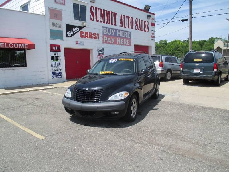 2001 Chrysler Pt Cruiser  Miles 0Color Black Stock 6933 VIN 3C8FY4BB61T266750