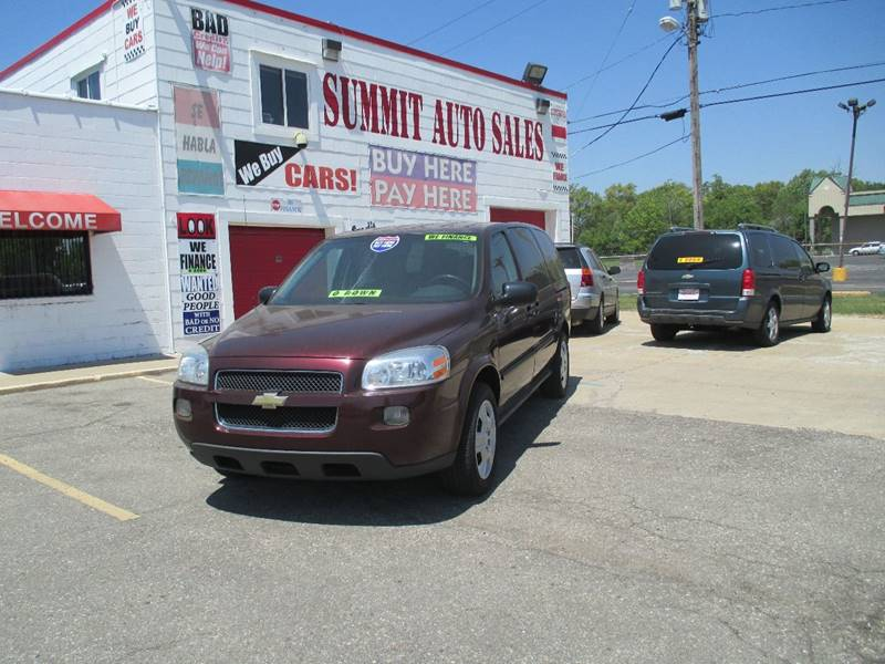 2008 Chevrolet Uplander  Miles 0Color Burgundy Stock 6970 VIN 1GNDV23W18D122697
