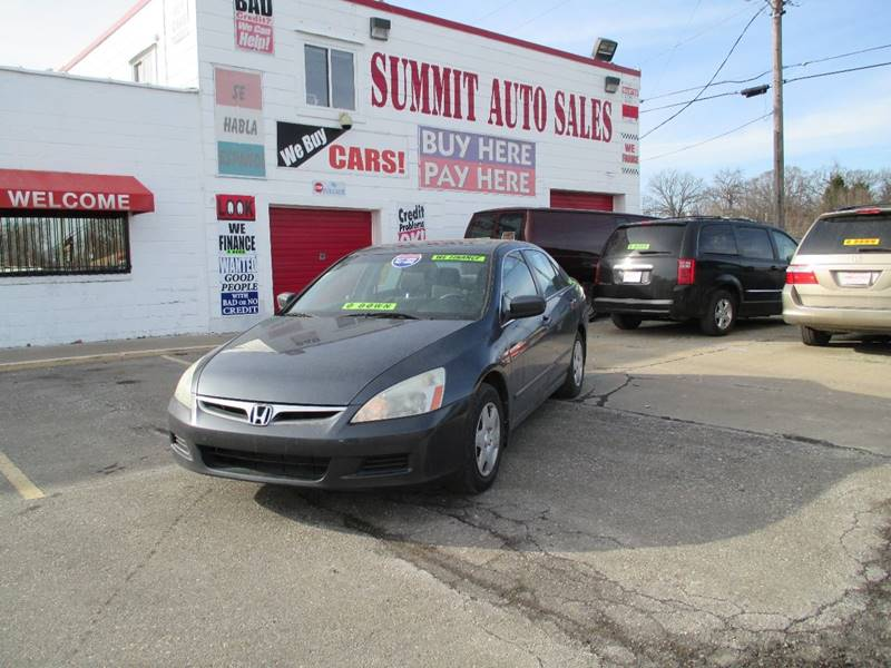 2007 Honda Accord  Miles 0Color Charcoal Stock 6979 VIN 1HGCM564X7A064481