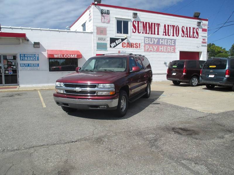 2003 Chevrolet Suburban  Miles 0Color Burgundy Stock 7012 VIN 1GNEC16Z83J140506