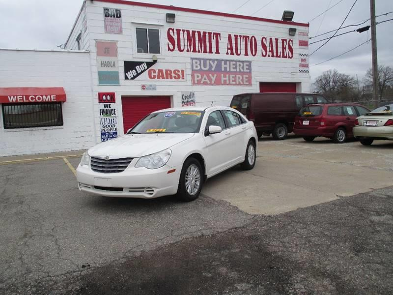 2007 Chrysler Sebring  Miles 0Color White Stock 7049 VIN 1C3LC46K57N582361