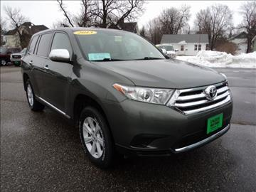 2013 Toyota Highlander for sale in Milbank, SD
