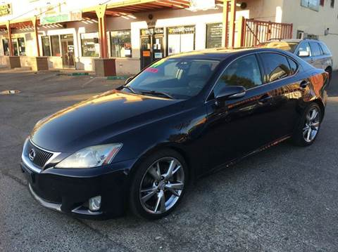 2009 Lexus IS 250 for sale at AUTOMEX in Sacramento CA