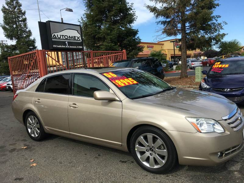 2006 Toyota Avalon for sale at AUTOMEX in Sacramento CA