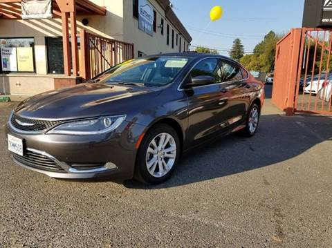 2015 Chrysler 200 for sale at AUTOMEX in Sacramento CA