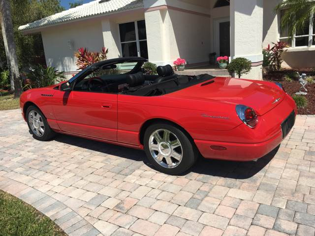 2004 Ford Thunderbird Deluxe 2dr Convertible - Fort Myers FL