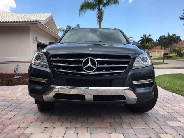 2012 Mercedes-Benz M-Class AWD ML 350 4MATIC 4dr SUV - Fort Myers FL