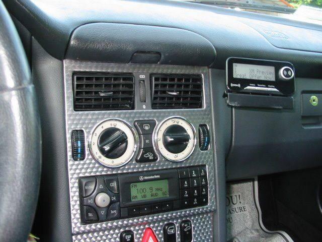 2001 Mercedes-Benz SLK SLK 230 Kompressor 2dr Convertible - Dobson NC