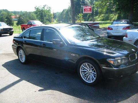 2004 BMW 7 Series for sale at Southern Used Cars in Dobson NC