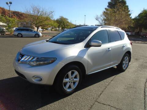 2009 Nissan Murano for sale at Team D Auto Sales in St George UT