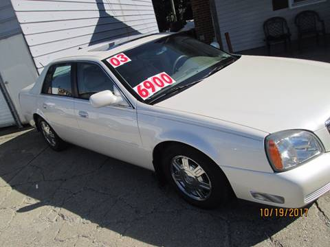 2003 Cadillac DeVille for sale in Shelbyville, IN