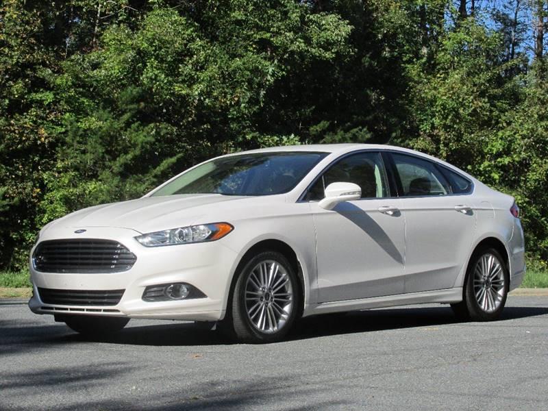 2014 Ford Fusion SE 4dr Sedan - Charlotte NC & 2014 Ford Fusion SE 4dr Sedan In Charlotte NC - Furrst Class Cars ... markmcfarlin.com