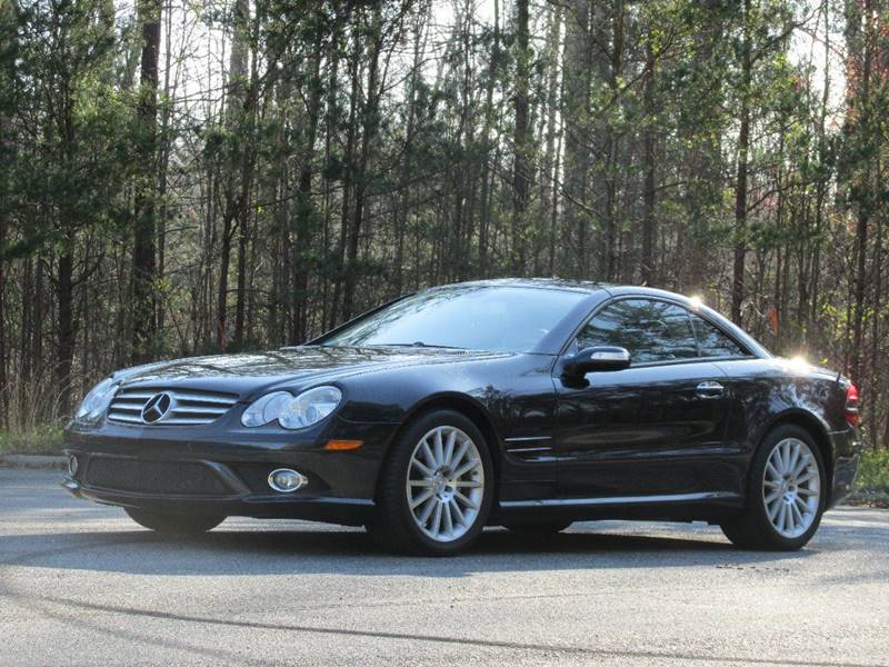 2008 mercedes benz sl class sl 550 2dr convertible in for Mercedes benz charlotte nc