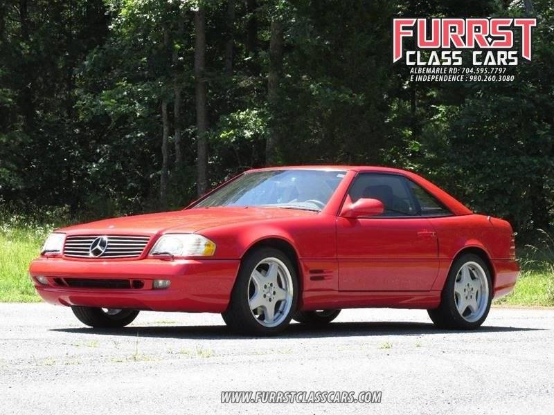 ... 2002 Mercedes Benz Sl Class SL 500 2dr Convertible In Charlotte NC