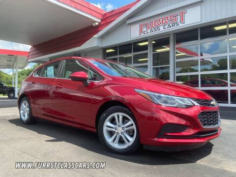 2017 Chevrolet Cruze for sale at Furrst Class Cars LLC in Charlotte NC