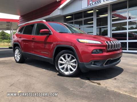 2016 Jeep Cherokee for sale at Furrst Class Cars LLC in Charlotte NC