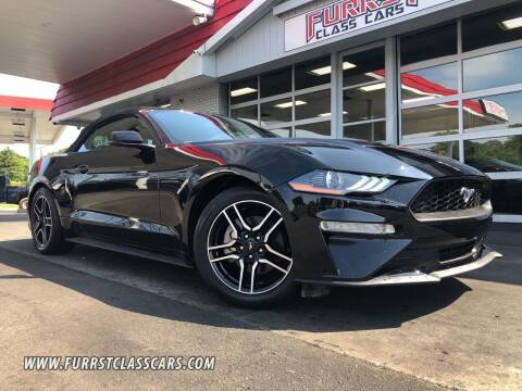 2019 Ford Mustang for sale at Furrst Class Cars LLC in Charlotte NC