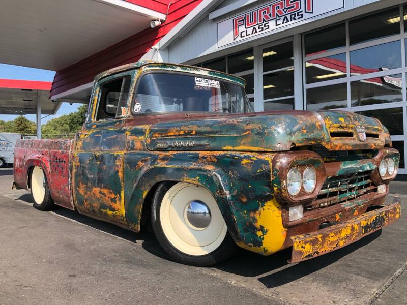 1960 Ford F-100 for sale at Furrst Class Cars LLC  - Independence Blvd. in Charlotte NC