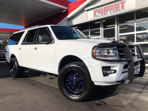 2015 Ford Expedition EL for sale at Furrst Class Cars LLC in Charlotte NC