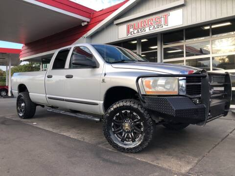 2006 Dodge Ram Pickup 2500 for sale at Furrst Class Cars LLC  - Independence Blvd. in Charlotte NC